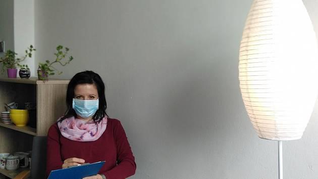 Terapeutická pracovnice Advaity.