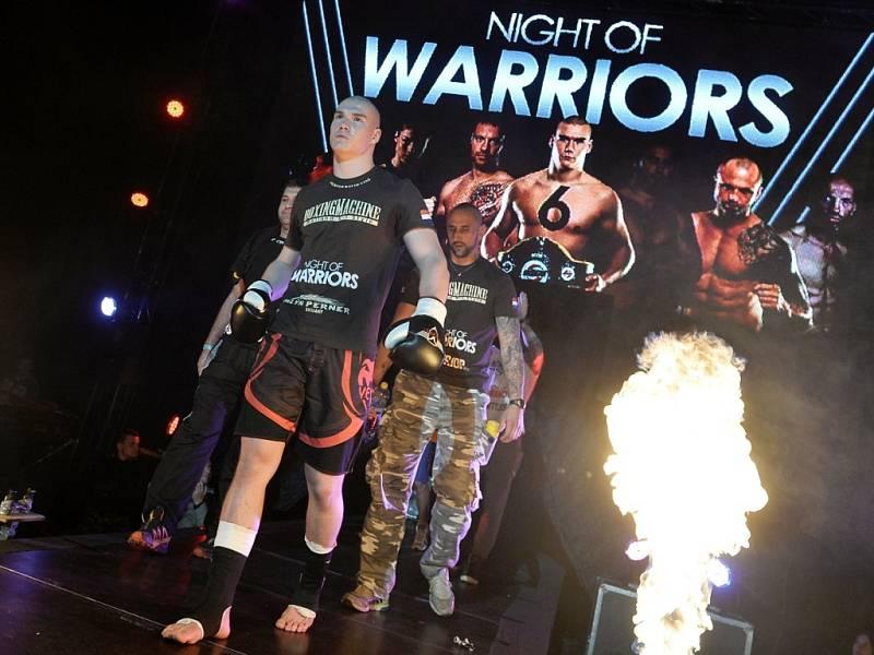 Home Credit arena hostila Night of Warriors.