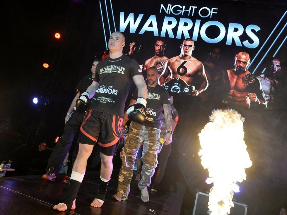Home Credit arena hostila Night of Warriors.