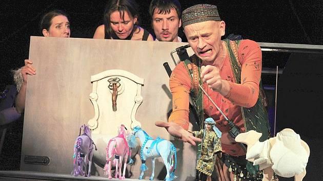 Novou pohádku nastudovalo liberecké Naivní divadlo.