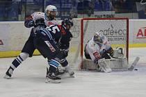 Liberec prohrál na Kladně 0:2. Ordoš se snaží zakončit individuální akci.
