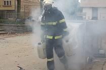 Borec Jirka Dušek z Liberce zvítězil v soutěži Nejtvrdší hasič přežije.