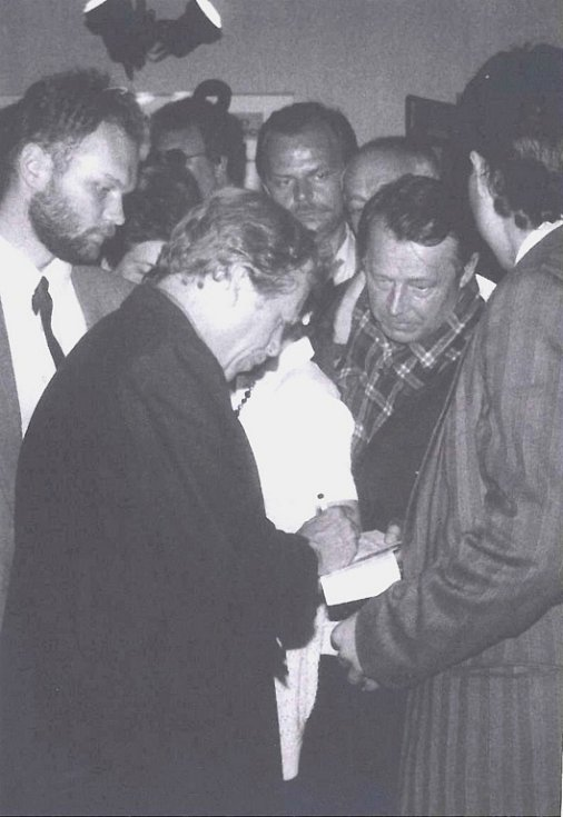 Bývalý prezident ČR Václav Havel.