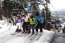 Kvůli oblevě přijelo do lyžařských středisek méně návštěvníků