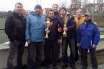 Vítězný tým z Hejnic