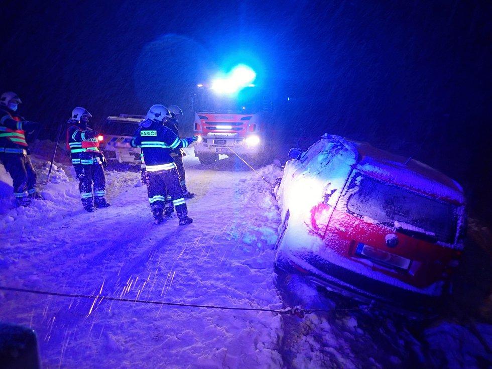 Dopravní nehoda v Libereckém kraji.