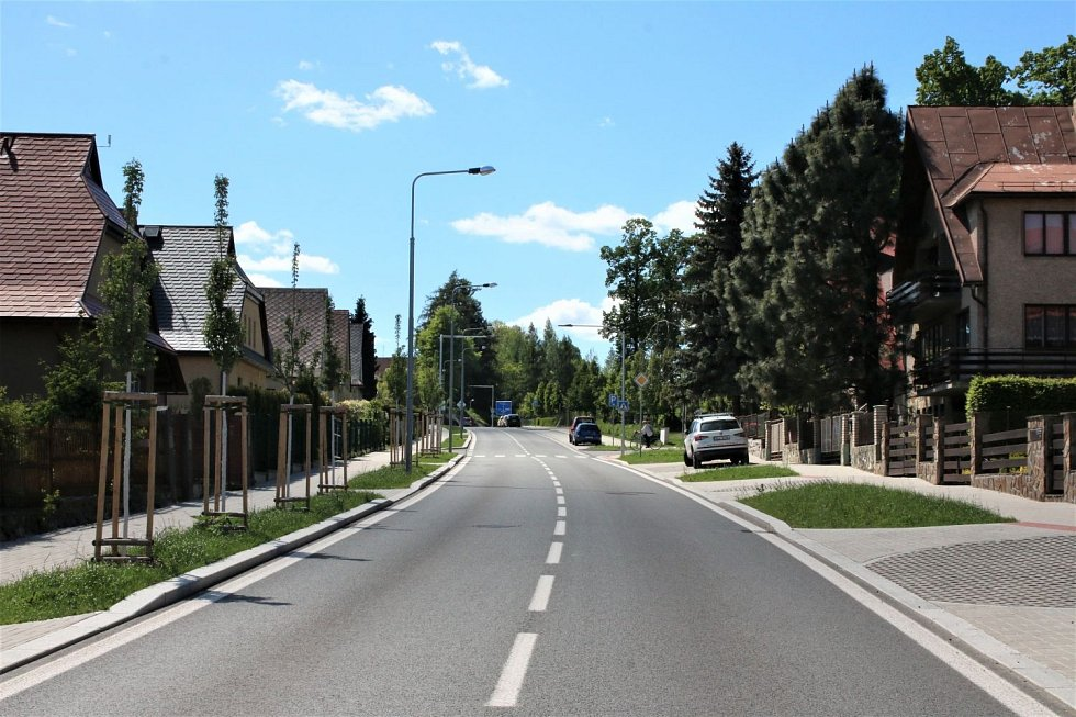Revitalizace ulice Žižkova, Jilemnice.