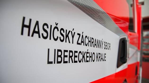 Hasičský záchranný sbor Libereckého kraje. Ilustrační foto.