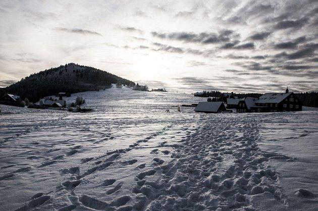 Zimní Jizerka.