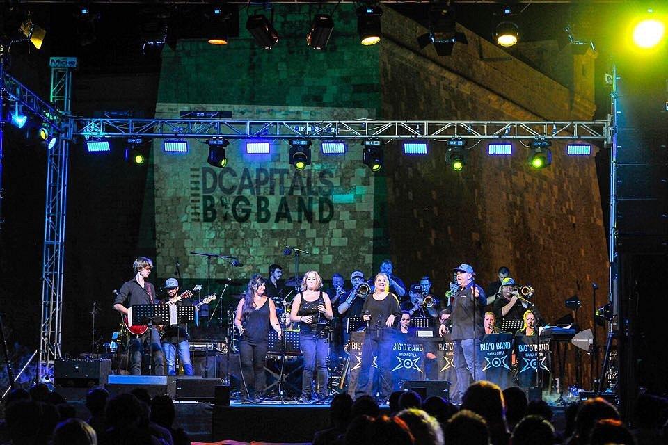 Liberecký Big`O`Band se nedávno vrátil z Malty.