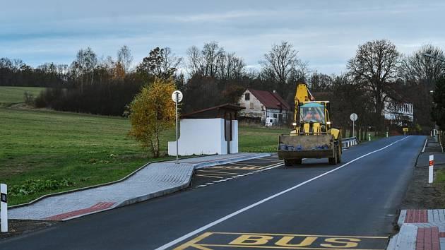 Nová silnice v Raspenavě.