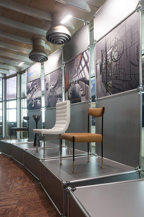 Výstava dobového vybavení hotelu Ještěd s názvem Ještěd Originál na snímku z 14. listopadu.