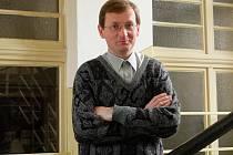 Pedagog a historik Milan Svoboda.