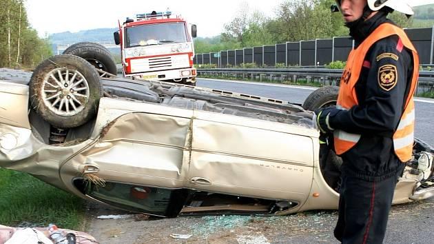 Na nebezpečném úseku může dojít k nehodám. Ilustrační snímek.