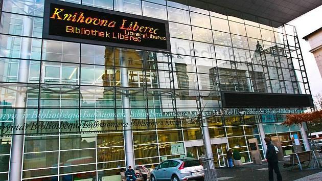 Krajská vědecká knihovna v Liberci. Ilustrační foto.