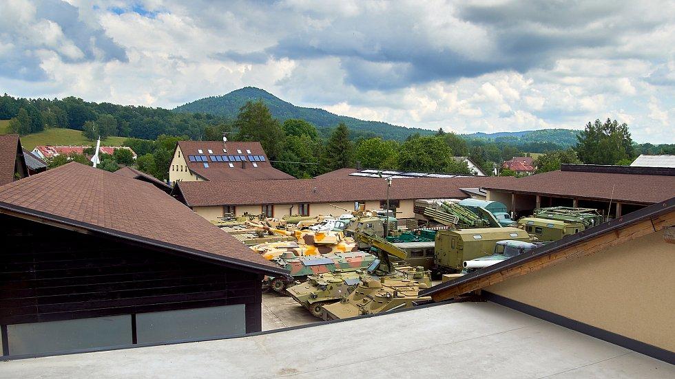 Muzeum vojenské historie v Heřmanicích v Podještědí