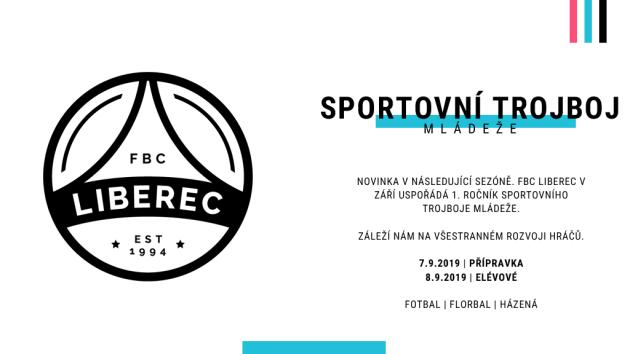 FBC Liberec uspořádá Sportovní trojboj mládeže