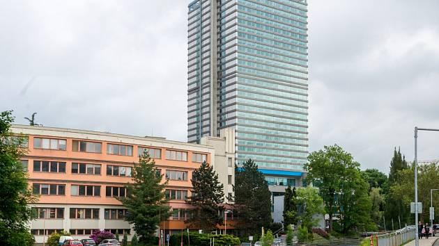 Nejvyšší budova v kraji, kde dnes sídlí Krajský úřad, byla dokončena v roce 1976.