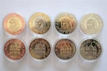 Výroční mince vydané k 800. výročí narození svaté Zdislavy z Lemberka.