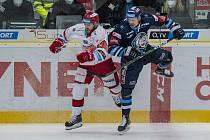 Liberec zdolal v prvním čtvrtfinále Hradec 4:3 v prodloužení.