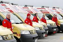 ZÁCHRANÁŘI. Michal Havlíček sliboval, že pomůže rozvinout potenciál, který záchranná služba v Libereckém kraji má.