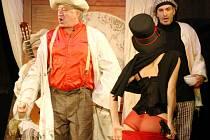 V libereckém Naivním divadle vystoupil pražský soubor Ypsilon se slavnými herci například Janou Synkovou, Jiřím Lábusem, Janem Přeučilem a dalšími v představení Vdovou proti své vůli.