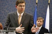 Jiří Pospíšil, ministr spravedlnosti.