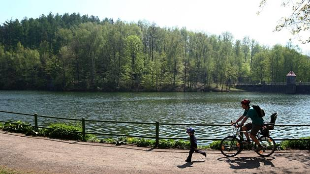 Liberecká přehrada.