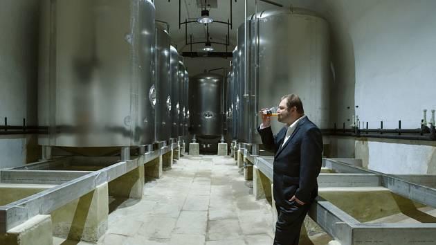 MAREK VÁVRA. Majitel pivovaru.