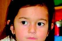 Pohřešovaná dívka Antonie Kulhánková.