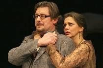 Martin Polách a Markéta Tallerová ve hře Koza aneb Kdo je Sylvie?