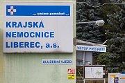 Krajská nemocnici Liberec. Ilustrační foto.