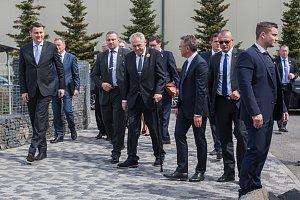 Prezident Zeman v Turnově a Jilemnici