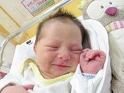 TEREZA HYLMAROVÁ Narodila se 10. července v liberecké porodnici mamince Kristýně Jínové z Liberce. Vážila 3,30 kg a měřila 52 cm.