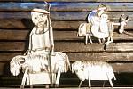 Betlém Josefa Jíry v Kryštofově Údolí na archivním snímku