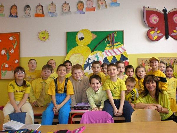 Žlutá třída.
