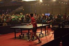 Michal Blinka hrál na mistrovství světa v Ping pongu