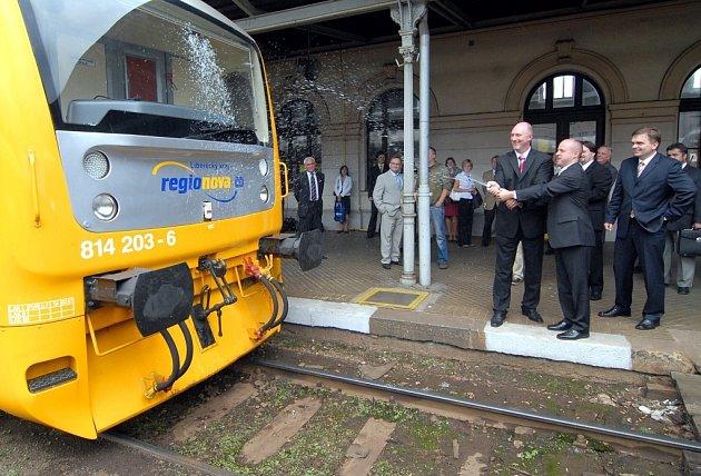 Nové vlaky Regionova Trio.