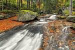 Podzimní vody Černé Desné