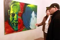 Výstava děl světoznámého německého výtvarníka Marcuse Lüpertze a jeho bývalého studenta, českého expresionisty Lubomíra Typlta v liberecké Oblastní galerii.