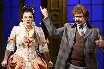 NETOPÝR. Straussová opereta v Šaldově divadle.