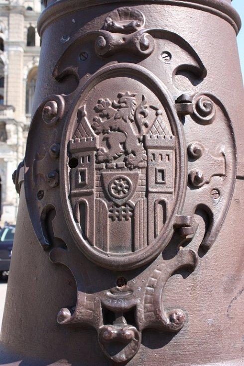 Liberec, město ve kterém žiju. Detail na benešově náměstí.