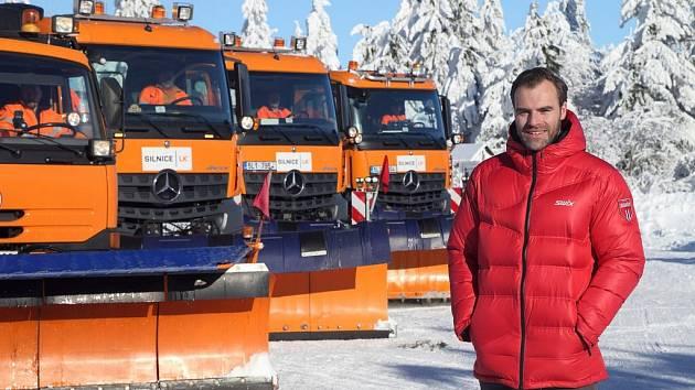 Ředitel společnosti Silnice LK Petr Šén.
