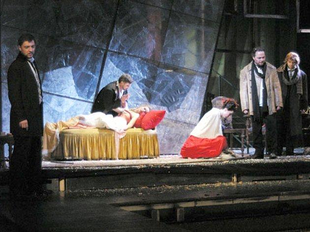 Opera Giacoma Pucciniho Bohéma.