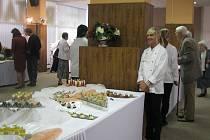 Na Gastrodni se předvedly budoucí kuchařky, kadeřnice i kosmetičky.