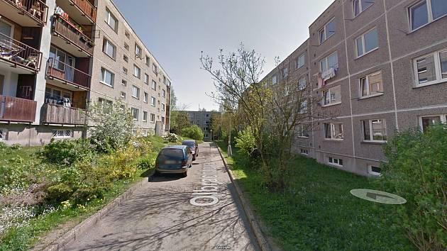 Nynější stav parkování v ulici Olbrachtova