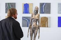 Malá výstavní síň v Liberci vystavuje dílo sochaře Olbrama Zoubka