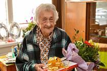 Marie Svobodová se stala další stoletou občankou Liberce.