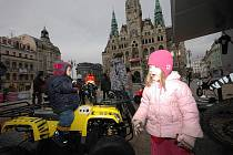 COOL DNY V LIBERCI daly během sobotního odpoledne možnost všem dětem vžít se do role závodníků. Někteří z nich při tom vypadaly, jako kdyby právě objevily smysl svého života.
