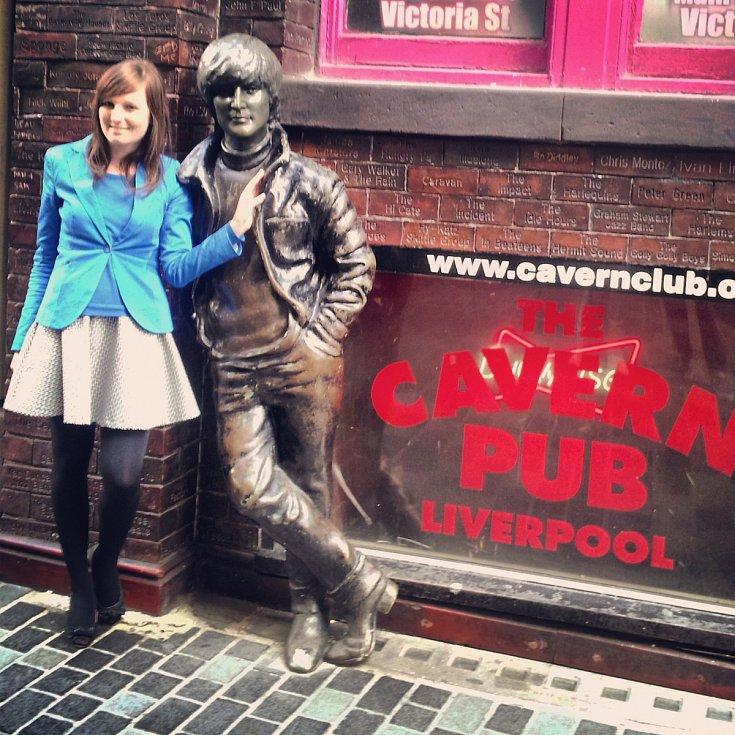nový Cavern Club, Liverpool.